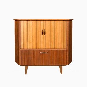 Mueble esquinero alemán Mid-Century, años 50