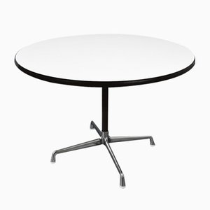 Round Aluminum Segmented Conference Table from Herman Miller, 1980s