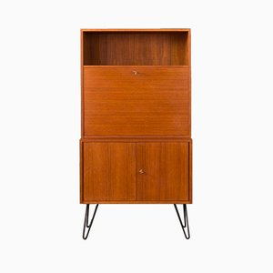 German Teak Secretaire from DeWe, 1960s
