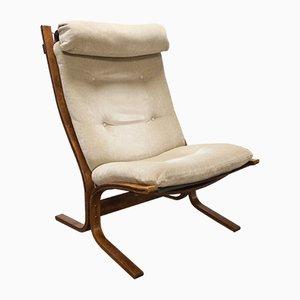 Moderne Vintage Siesta Sessel im skandinavischen Design von Ingmar Relling für Westnofa, 1970er
