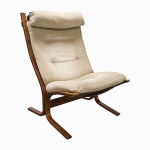 Vintage Scandinavian Modern Siesta Lounge Chair by Ingmar Relling for Westnofa, 1970s