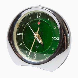 Reloj Mid-Century verde de Diamond, años 50