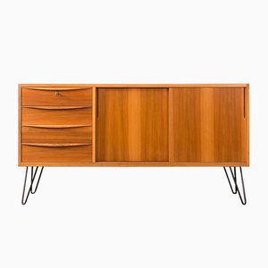 German Steel and Formica Sideboard, 1950s