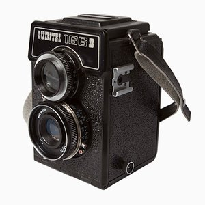 Silver 166B Camera from Lubitel, 1970s