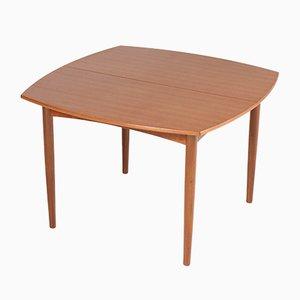 Mesa de comedor extensible de teca de Cees Braakman para Pastoe, años 60