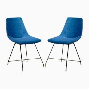 Mid-Century Chairs by Augusto Bozzi for Saporiti Italia, 1950s, Set of 2