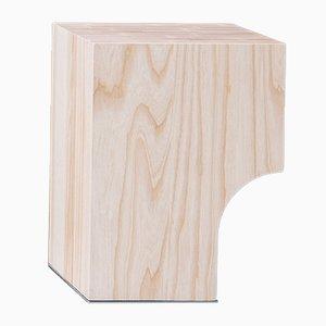 Arch 01.1 Hocker aus Eschenholz von Sam Goyvaerts für barh.design