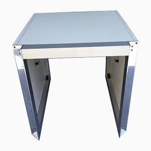 Table d'Appoint en Aluminium et Formica par Georges Frydman pour EFA, France, 1960s