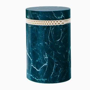 Sgabello brut 01.1 C in marmo di Sam Goyvaerts per barh.design