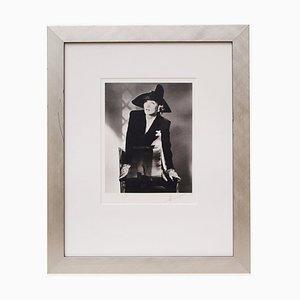 Póster Mid-Century de Marlene Dietrich de Horst P Horst, 1942