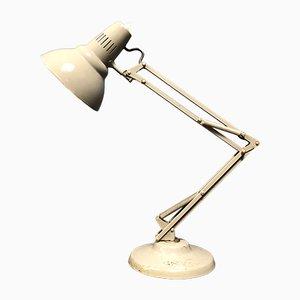 Lámpara de mesa industrial de aluminio y acero de 1001 Lamps, años 60