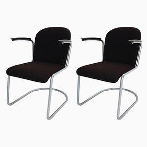 M-413 Beistellstühle von Willem Hendrik Gispen für Gispen, 1953, 2er Set