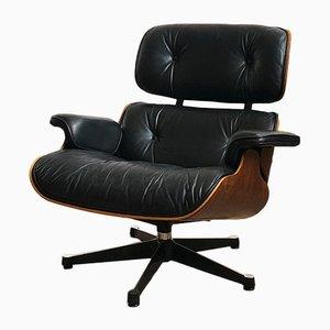 Mid-Century Sessel mit Gestell aus Palisander von Charles & Ray Eames für Vitra