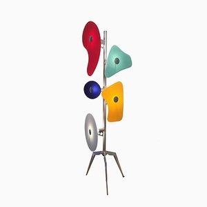 Italian Bauhaus Floor Lamp by Ferruccio Laviani for Foscarini, 1990s