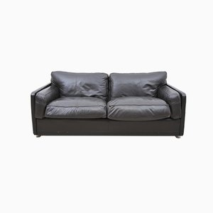 Italian Modern Leather Sofa from Poltrona Frau, 1990s