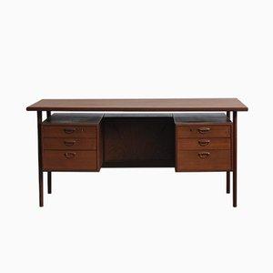 Dänischer Schreibtisch aus Teak im skandinavischen Design von Kai Kristiansen, 1960er