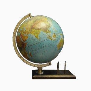 Dänischer Globus aus Metall & Kunststoff von Scan Globe, 1960er