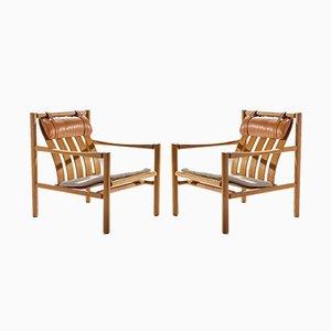 Moderne dänische Sessel im skandinavischen Stil von Jørgen Nilsson für J.H. Johanssen's Eftf, 1964, 2er Set