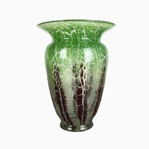 Vase en Verre par Karl Wiedmann pour WMF, Allemagne, 1930s