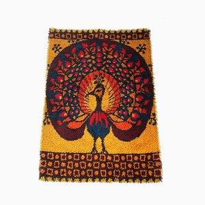 Dänischer Vintage Teppich aus Baumwolle von Ege Taepper, 1970er