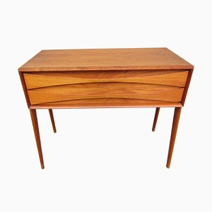 Model GT 6835 Teak Dresser by Rimbert Sandholdt for Glas & Trä Hovmantorp, 1950s