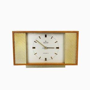 Reloj alemán de vidrio y metal de Junghans, años 60