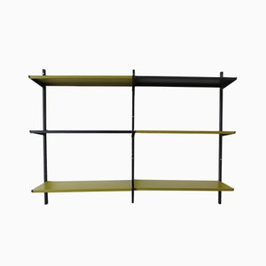 Vintage Metal Shelving Unit from Tomado