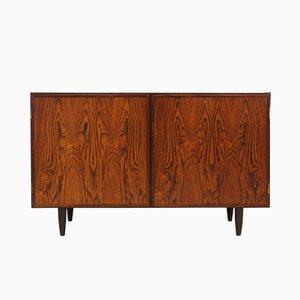 Mueble danés moderno de palisandro y chapa de Omann Jun, años 70