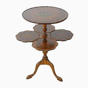 Tavolino da caffè antico in mogano, anni '20