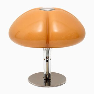 Model Quadrifoglio Italian Chrome Plated Table Lamp by Gae Aulenti for Guzzini, 1970s