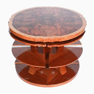 Art Deco Walnut Nesting Tables by Harry & Lou Epstein, 1930s