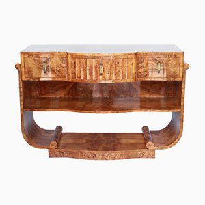Art Déco Sideboard aus Nussholz von Harry & Lou Epstein, 1930er