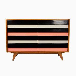 Wood and Plaster Dresser by Jiří Jiroutek, 1960s