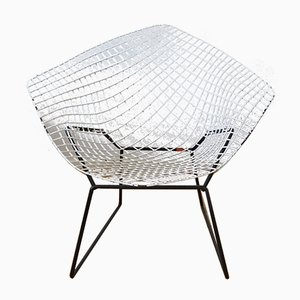 Silla Diamond 421 de Harry Bertoia para Knoll International, años 70