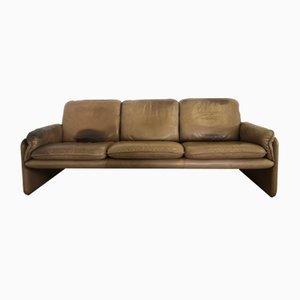 Vintage DS 61 Leather Sofa from de Sede, 1970s