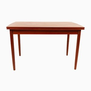 Mid-Century Danish Teak and Veneer Extendable Dining Table, 1960s