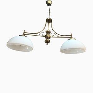 Lámpara de billar Mid-Century, años 60