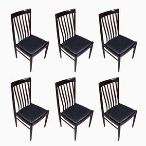 Chaises de Salle à Manger Mid-Century par H. W. Klein pour Bramin, Danemark, 1960s, Set de 6