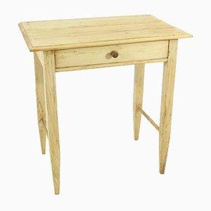 Antiker Schreibtisch aus Tannen- & Fichtenholz, 1900er