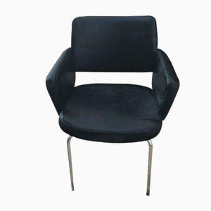 Chaise de Bureau Mid-Century en Cuir, 1960s