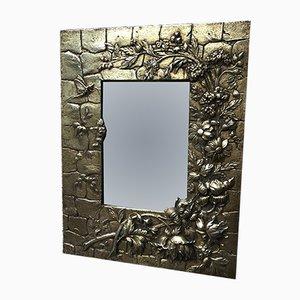 Antiker Spiegel mit Rahmen aus Bronze