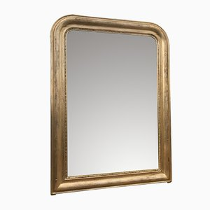 Espejo Louis Philippe antiguo dorado