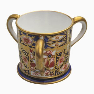 Cuenco antiguo de porcelana de Royal Crown Derby