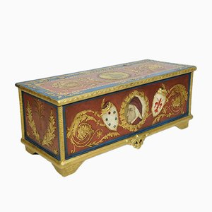 Antique Lacquered Chest, 1920s