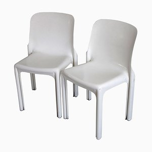 Selene Chairs by Vico Magistretti for Artemide, 1960s, Set of 2