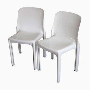 Selene Stühle Vico Magistretti für Artemide, 1960er, 2er Set