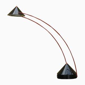Lampada da tavolo in acciaio e ABS di Linke Plewa per Brilliant Leuchten AG, anni '80