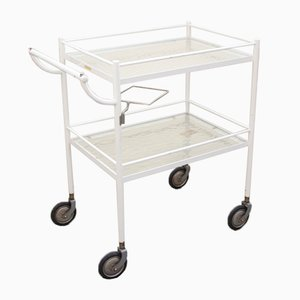 Mid-Century Glass Trolley, 1950s