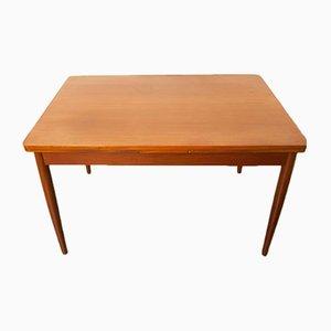 Mesa de comedor Mid-Century de madera, años 60