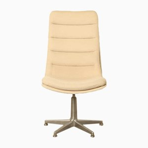Vintage Sessel mit Gestell aus Aluminium, 1960er